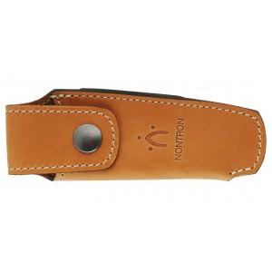 Natural leather case for pocket knife N°30
