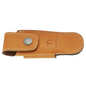 Natural leather case for pocket knives N°25 BO